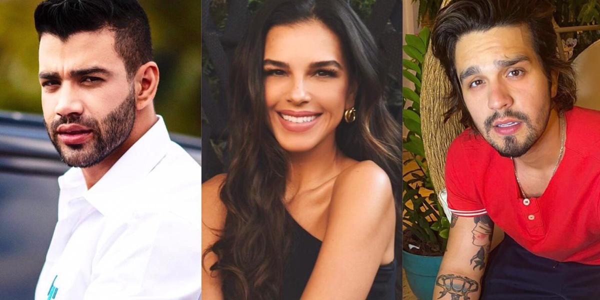Gusttavo Lima, Mariana Rios, Luan Santana