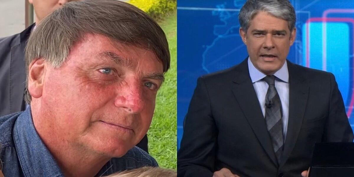 Jair Bolsonaro, William Bonner