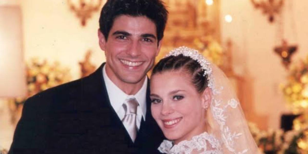 Casamento de Edu e Camila em Laços de Família (Foto: Reprodução)