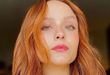 Larissa Manoela passou por recente cirurgia na cabeça (Foto: Reprodução)