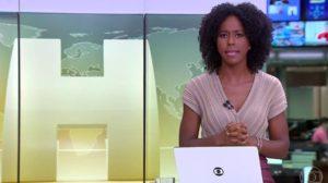 Maju encerrou Jornal Hoje com terrível notícia (Foto: Reprodução)