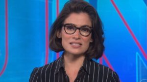 Renata Vasconcellos no Jornal Nacional (Foto: Divulgação)