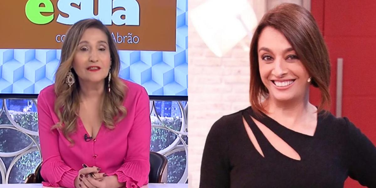 Sonia Abrão e Catia Fonseca (Foto: Reprodução)