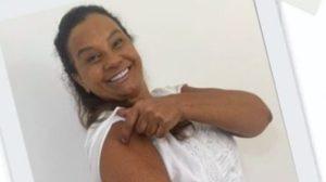 Solange Couto explicou motivo pelo qual tomou vacina (Foto: Reprodução)
