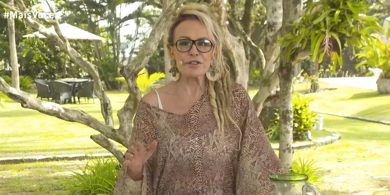 """Ana Maria surge de dread no """"Mais Você"""", da Globo, nesta sexta-feira, 9 (Reprodução)"""