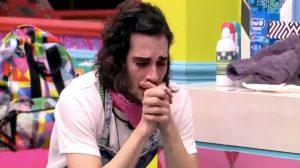Fiuk caiu no choro no BBB21 (Foto: Divulgação)