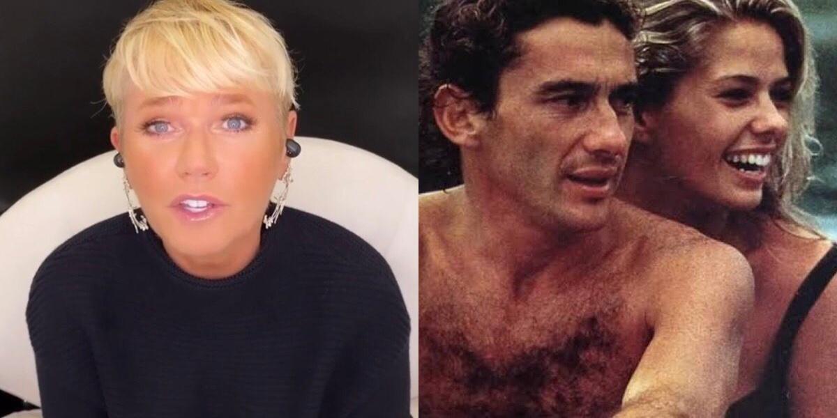 Xuxa, Ayrton Senna, Adriane Galisteu