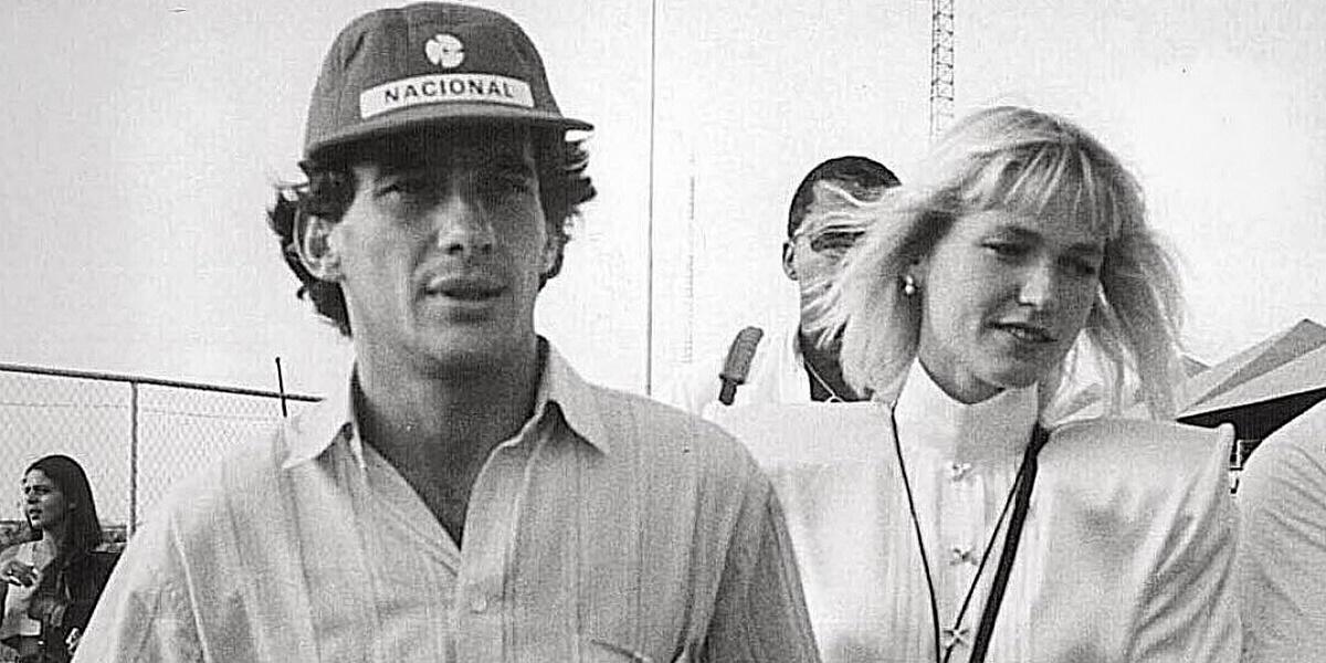 Xuxa, Ayrton Senna