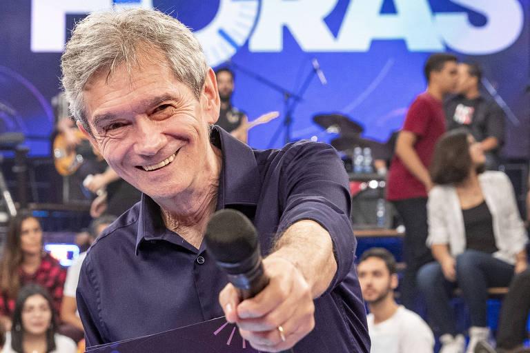 Altas Horas de Serginho Groismann tem explodido na audiência (Foto reprodução)