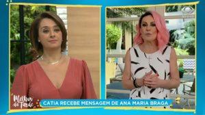 Catia Fonseca e Ana Maria Braga (Foto: Divulgação)