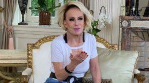 """Ana Maria Braga apresenta o """"Mais Você"""" na Globo (Foto: Reprodução/Instagram)"""