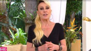 Ana Maria Braga surgiu com visual diferente ao vivo (Foto: Reprodução/TV Globo)