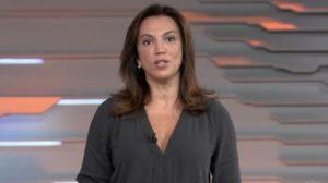 """Ana Paula Araújo comanda o """"Bom Dia Brasil"""", que explodiu em audiência (Foto: Reprodução/TV Globo)"""