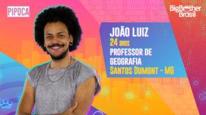"""João Luiz foi anunciado no """"BBB21"""" (Foto: Divulgação/TV Globo)"""