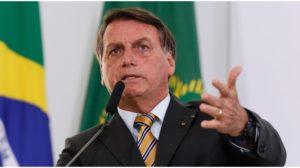 O presidente Jair Bolsonaro detonou a Globo - Foto: Reprodução
