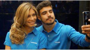 Caio Castro e a namorada, Grazi Massafera - Foto: Reprodução
