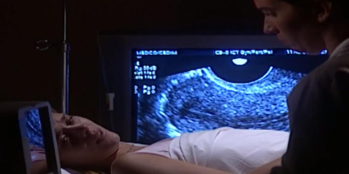 Camila perde o bebê em Laços de Família (Foto: Reprodução)