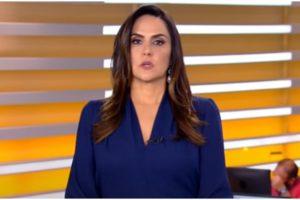 Carla Cecato teve motivo da demissão da Record exposto (Foto reprodução)