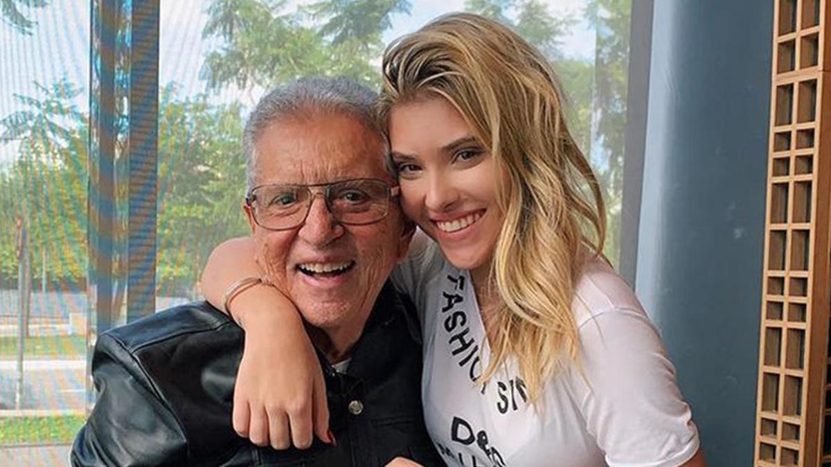 Carlos Alberto e a filha Mafe Nóbrega (Foto: Reprodução/Instagram)