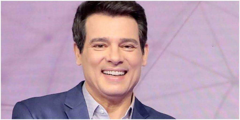 O apresentador Celso Portiolli, do SBT - Foto: Reprodução