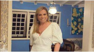 Christina Rocha exibiu o corpão em clique ousado (Foto: Reprodução/ Instagram)