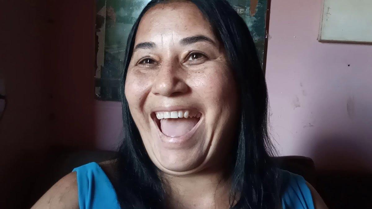 Cléo Loyola, ex-mulher de Luciano (Foto: Reprodução)