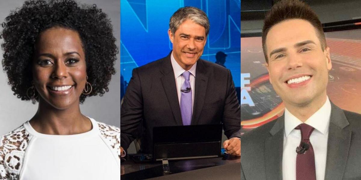 Prêmio TV Foco: Bonner e Maju arrebentam e são os melhores jornalistas