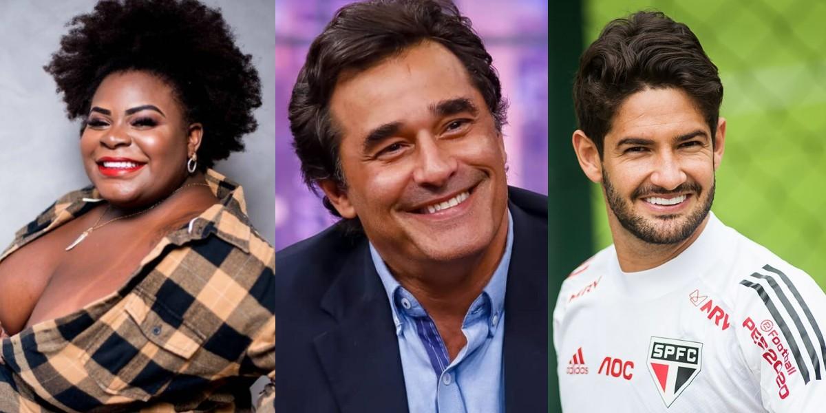 Jojo Todynho, Luciano Szafir e Alexandre Pato (Maurício Rummens/Fotoarena/Estadão Conteúdo) - Foto: Montagem/TV Foco