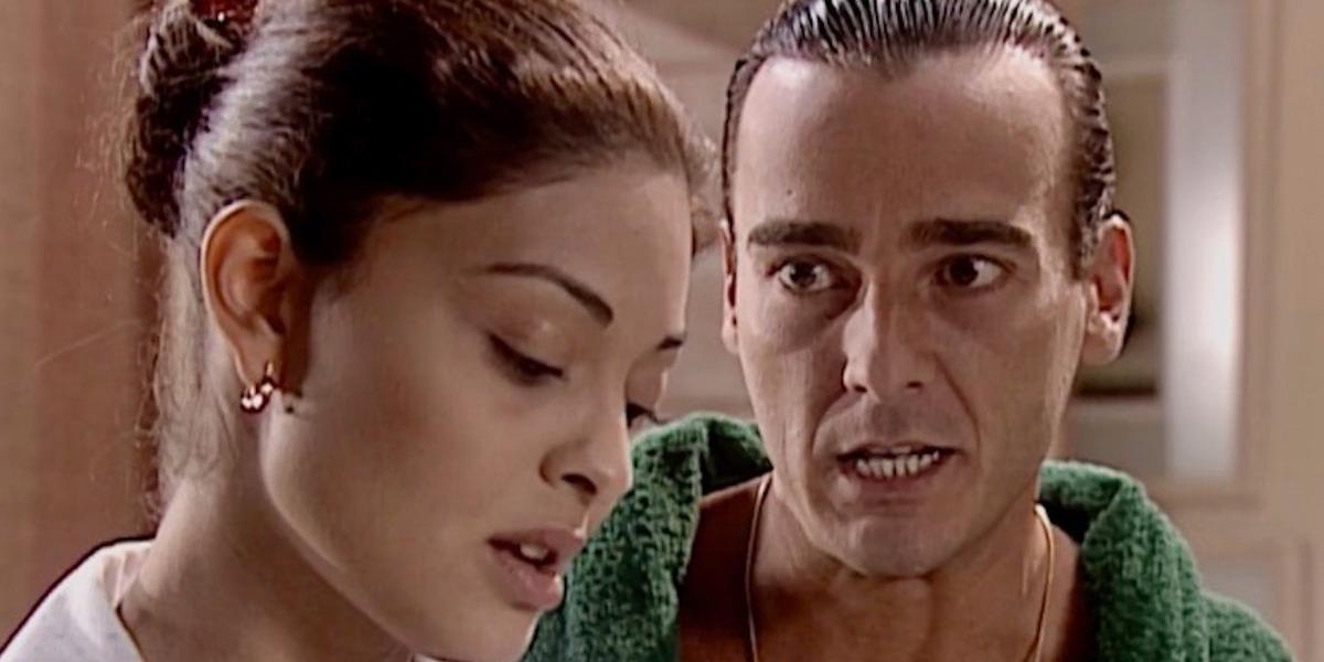 Danilo engravida Ritinha em Laços de Família (Foto: Reprodução)