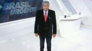 """Datena no """"Brasil Urgente"""" (Foto: Reprodução/Band)"""