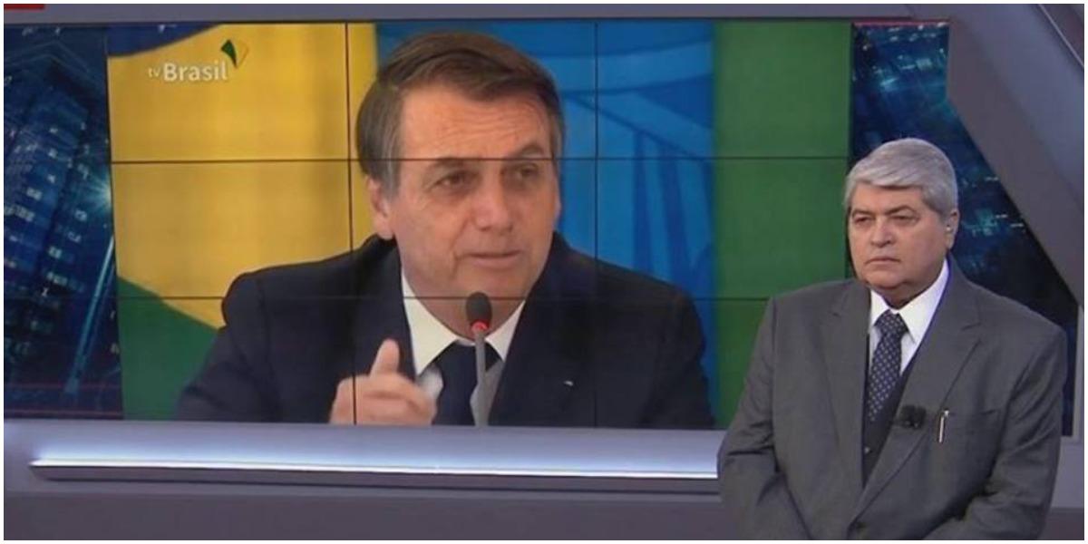 Datena não gostou nem um pouco de atitude tomada por Bolsonaro - Foto: Reprodução