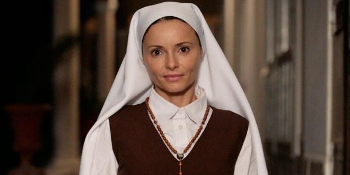 Doralice no convento em Laços de Família (Foto: Reprodução)