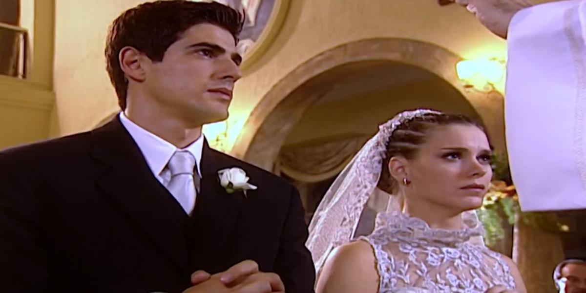 Casamento de Edu e Camila é marcado por impasses (Foto: Reprodução)