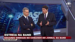 Apresentador da Band, Eduardo, detonou governo de Bolsonaro (Foto: Divulgação)