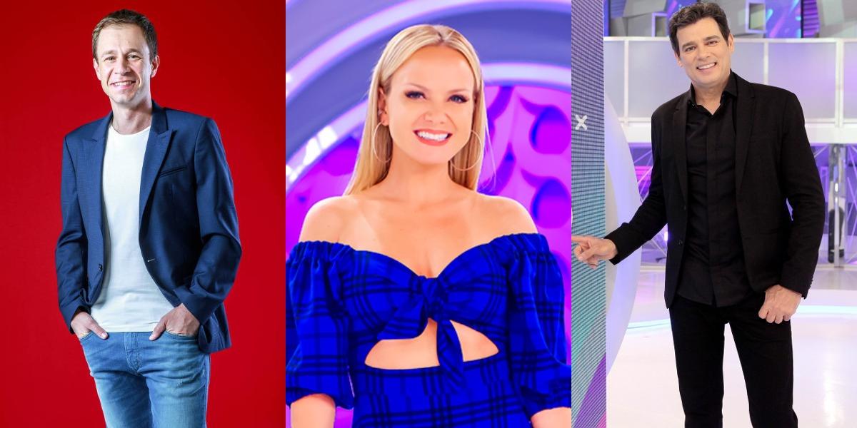 """Eliana, """"Big Brother Brasil 20"""" e Celso Portiolli foram destaques em 2020 (Foto: Reprodução/TV Globo/SBT)"""