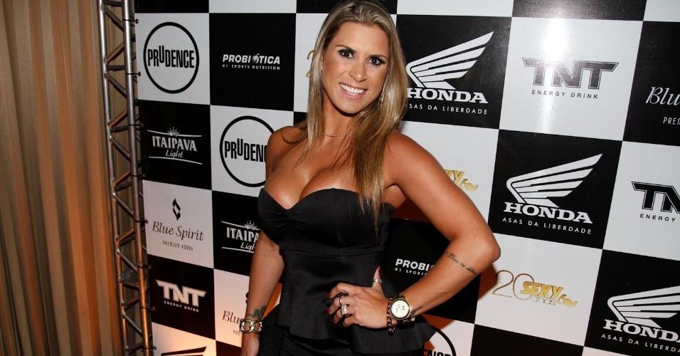 Ellen Pinheiro é ex Malandrinha (Foto reprodução)
