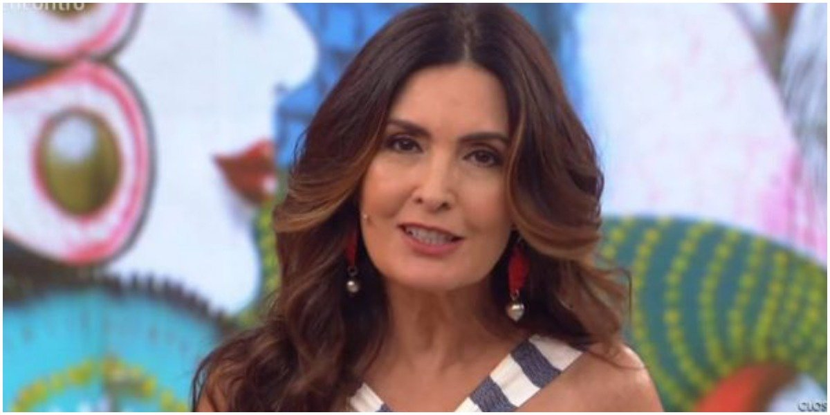 A apresentadora Fátima Bernardes - Foto: Reprodução