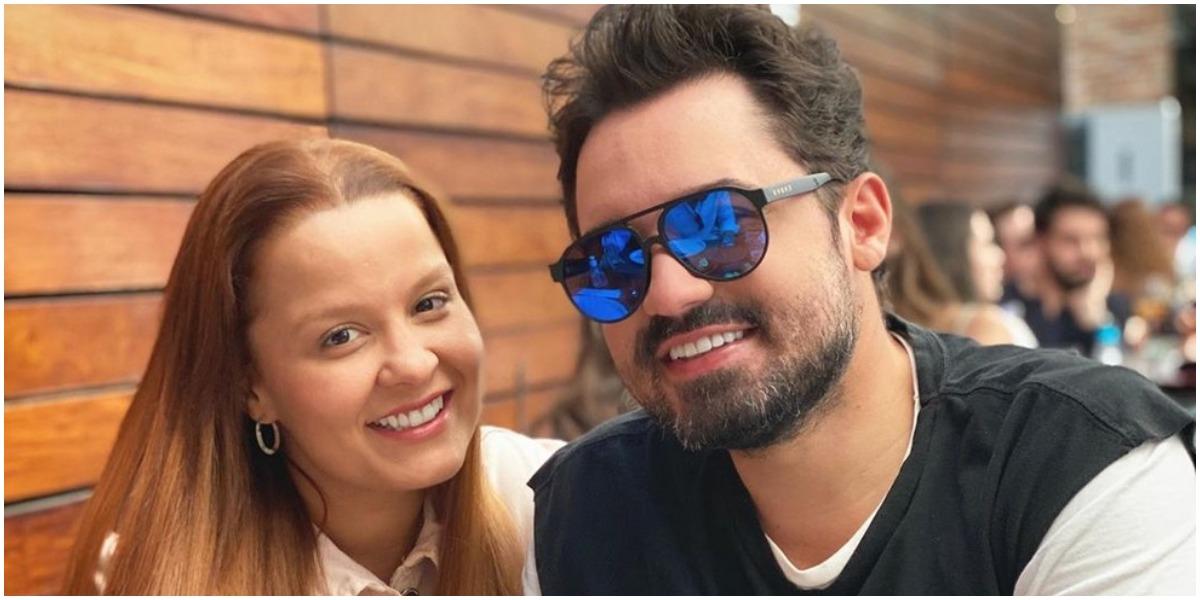 Fernando Zor e Maiara no programa Altas Horas - Foto: Reprodução