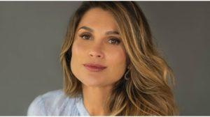 A atriz Flávia Alessandra radicalizou - Foto: Reprodução