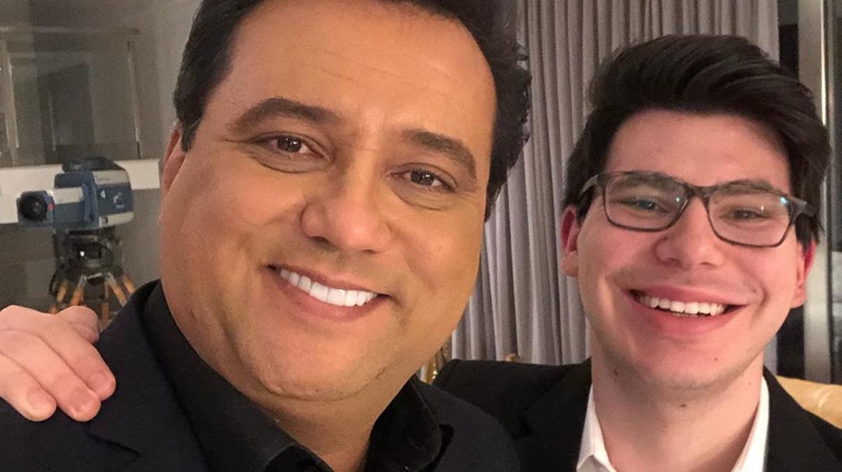 Geraldo Luís e filho (Foto: Reprodução)