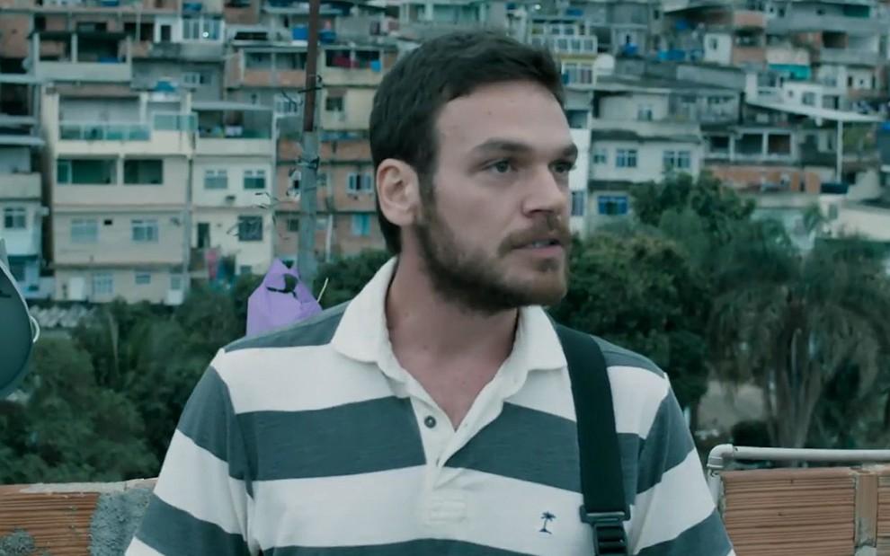 Rubinho em A Força do Querer (Foto: Reprodução/ Globo)