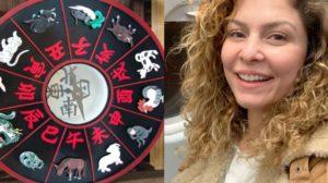 A terça-feira, 26, é marcada pelo aniversário da atriz Bárbara Borges, artista do signo de Aquário (Foto: Reprodução)