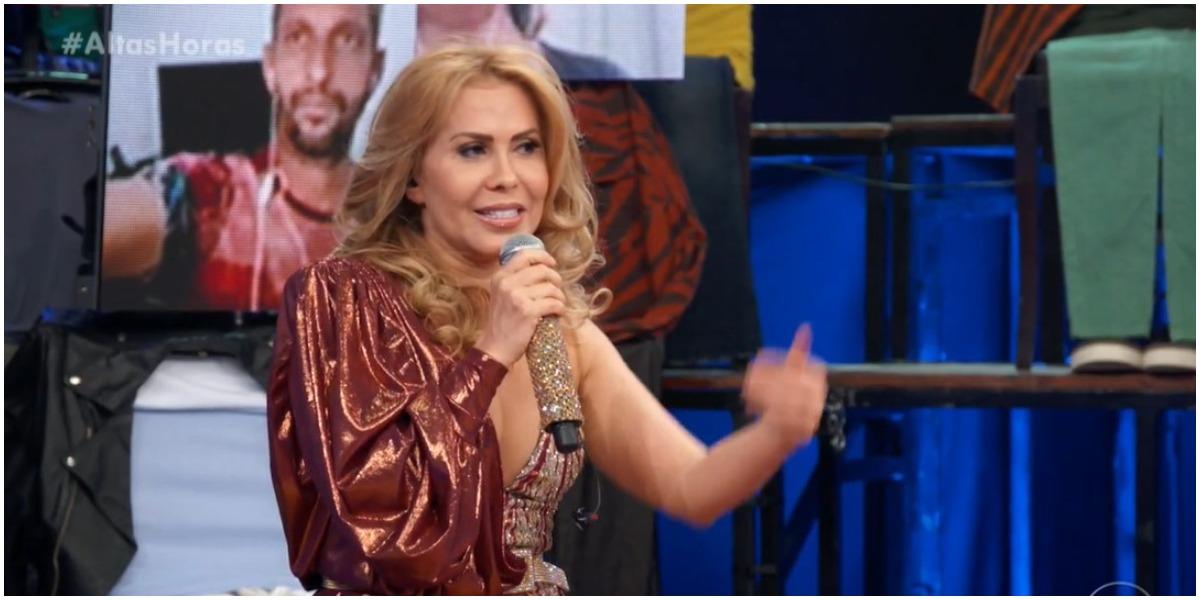 Joelma no programa Altas Horas, da Globo - Foto: Reprodução