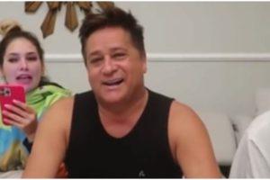 Leonardo participou do vídeo de Virgínia, juntamente com Zé Felipe (Foto: Reprodução)