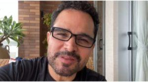 Luciano Camargo é exposto por Flávia Fonseca, sua esposa (Foto: Reprodução)