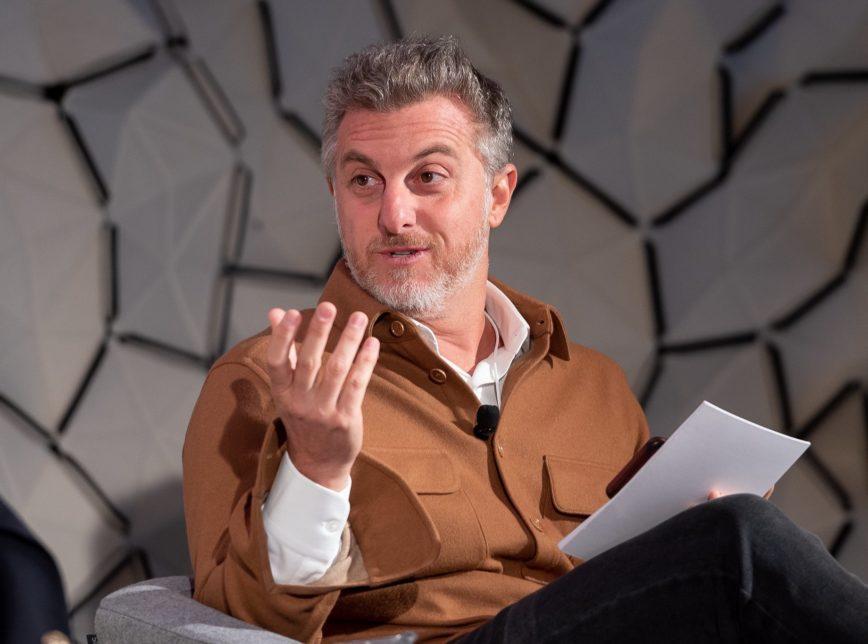 Luciano Huck (Foto: World Economic Forum/ Sandra Blaser)