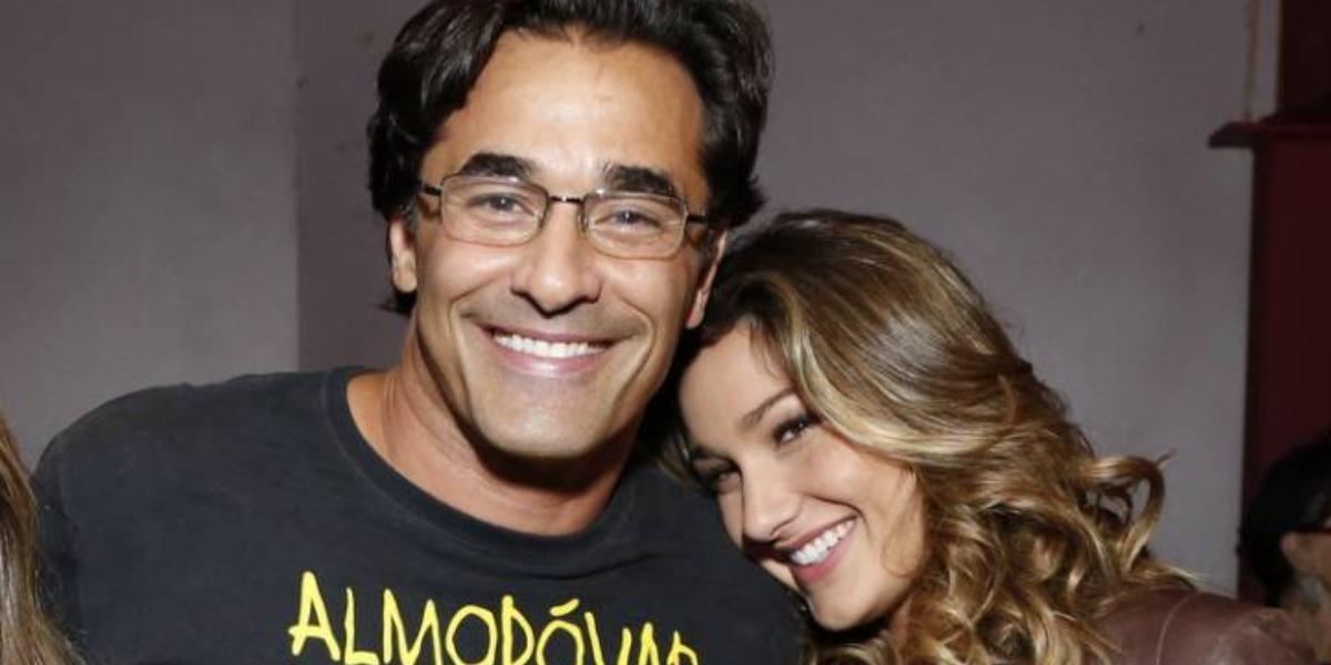 Luciano Szafir e Sasha Meneghel (Foto: AgNews)