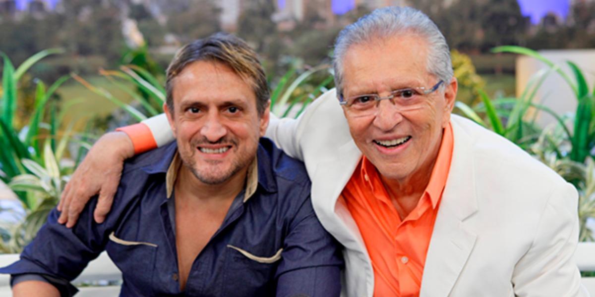 Marcelo de Nóbrega é filho de Carlos Alberto de Nóbrega (Foto: Divulgação/SBT)