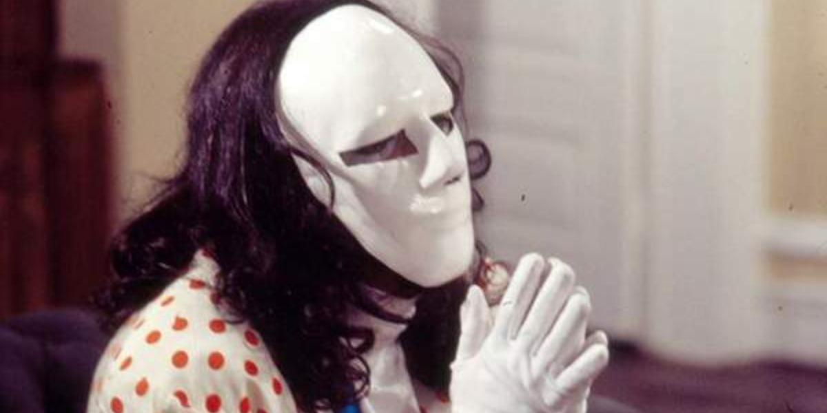 Mascarado em A Viagem (Foto: Reprodução)