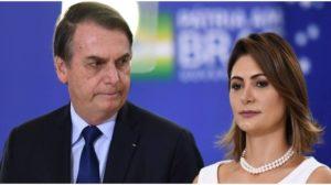 Michelle Bolsonaro expôs o marido em entrevista - Foto: Reprodução